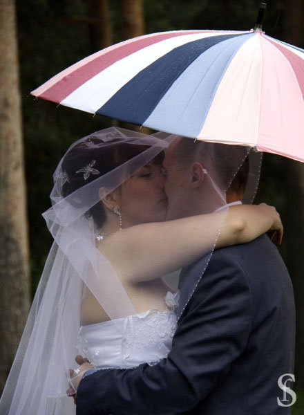 Поцелуй жениха и невесты, фото by Svetlana Fonfrovich, 1