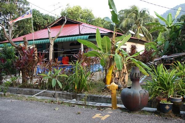 Дом в малайской деревне