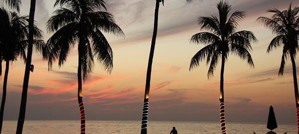 Закат на острове Пангкор