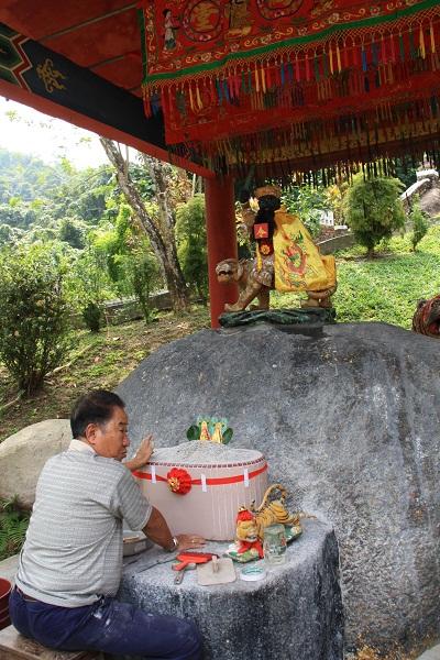 Китайский храм на о. Пангкор