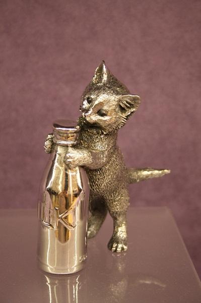 Котёнок оловянный ройял силангор малайзия, оловянная фабрика Роял Селангор, Royal Selangor factory