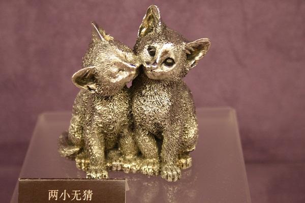 Кот и кошка оловянные ройял силангор, оловянные фигурки Royal Selangor, оловянная фабрика Роял Селангор