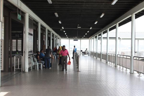 Лумут. Морской вокзал. Малайзия. PhotoBySvetlanaFonfrovich