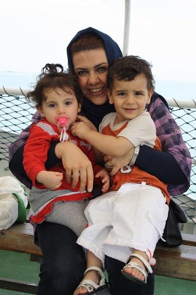 Малайка с детьми