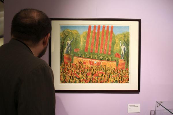Музей советского наива - выставка работ Семёна Белого