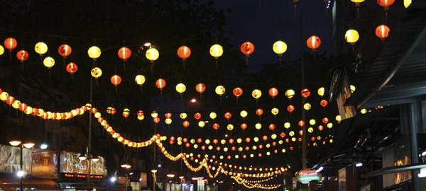 Новогодний Куала-Лумпур, фото Светланы Доможировой