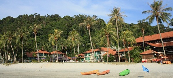 Пляж в отеле Pangkor Island Beach Resort. О.Пангкор, Малайзия. PhotoBySvetlanaFonfrovich