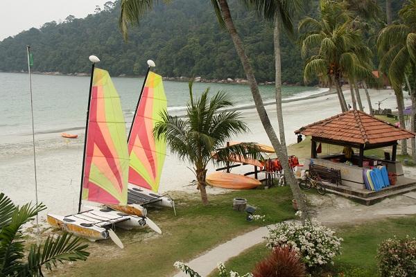 Развлечения на о.Пангкор в отеле Pangkor Island Beach Resort. О.Пангкор, Малайзия. PhotoBySvetlanaFonfrovich