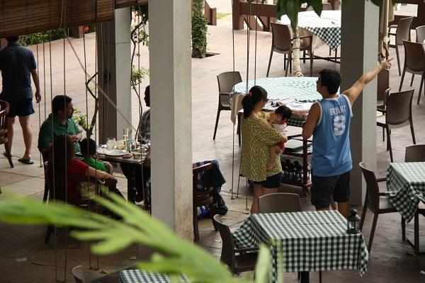 Ресторан в отеле Pangkor Island Beach Resort. О.Пангкор. PhotoBySvetlanaFonfrovich