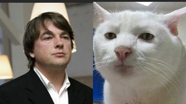 Константин Эрнст и меланхоличный кот.