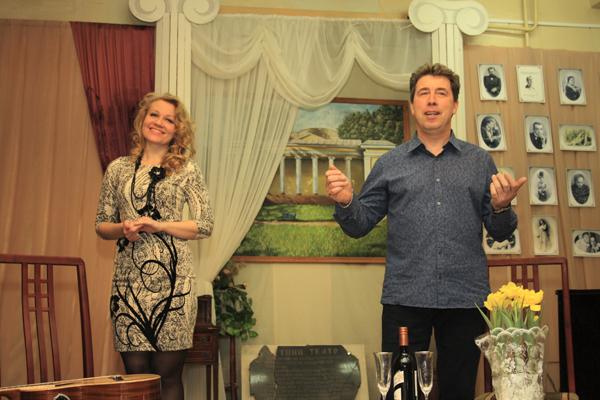 Алина Серёгина и Сергей Леонтьев в Малаховке, фото Светланы Фонфрович