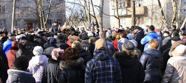 Малаховка, народный сход против тарифов ЖКХ #PhotoBySvetlanaFonfrovich