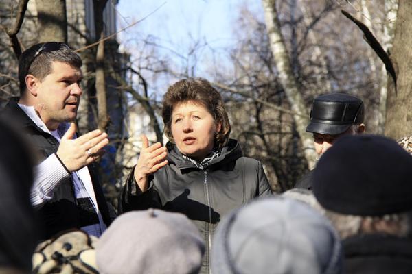 Малаховка против ЖКХ, народный сход 9 марта, фото Светланы Фонфрович