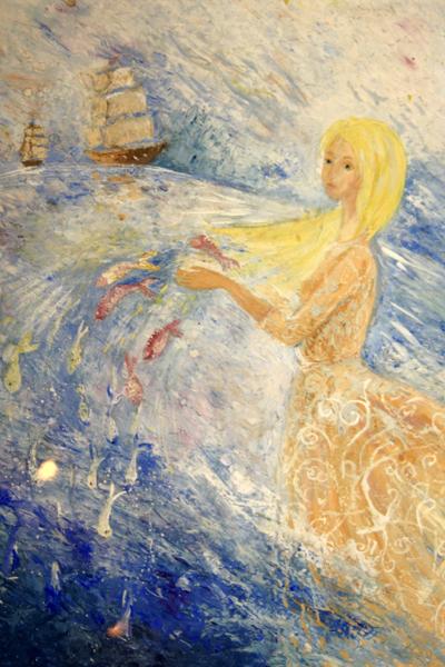 Мария Горбунова, 12 лет. Морская пена