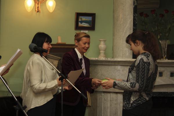 Награждение лауреатов конкурса, фото Светланы Фонфрович, 2
