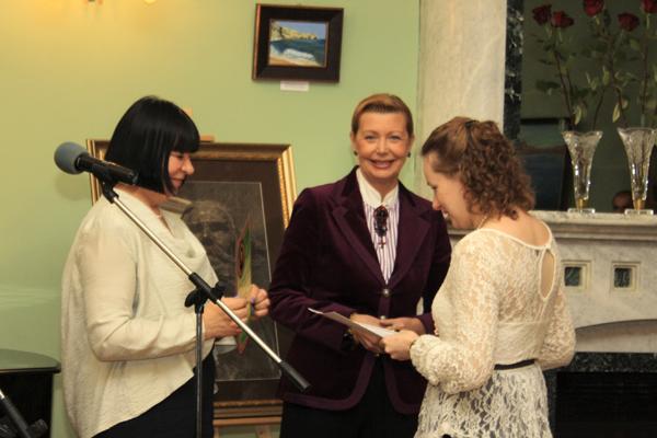 Награждение лауреатов конкурса, фото Светланы Фонфрович. 3