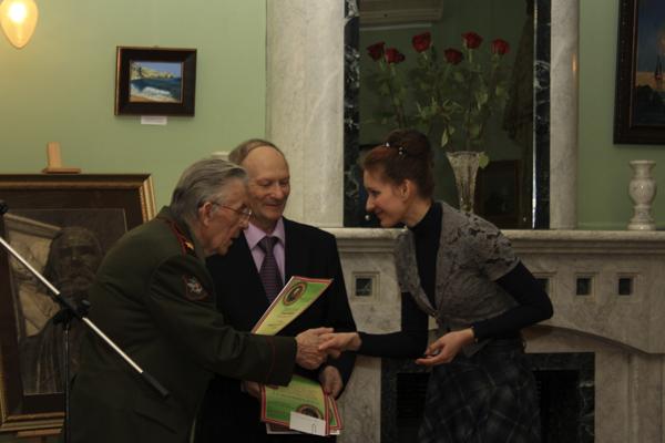 Награждение лауреатов. Фото Светланы Фонфрович.