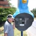 Необычные телефонные будки Бразилия Твиттер