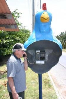 Необычные телефонные будки