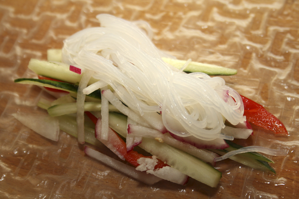 Рулеты из рисовой бумаги - начинка, Photo by Svetlana Fonfrovich