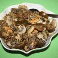 Салат из чечевицы с грибами, фото Светланы Фонфрович