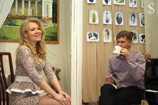Алина Серёгина и Александр Гаджиев, фото - Светлана Фонфрович