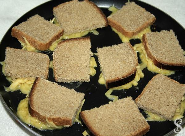 Гренки оригинальные с сыром и пряностями, рецепт с фото by Svetlana Fonfrovich, 3