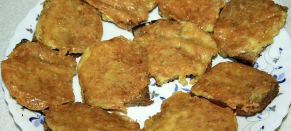 Гренки оригинальные с сыром и пряностями, рецепт с фото by Svetlana Fonfrovich, 5