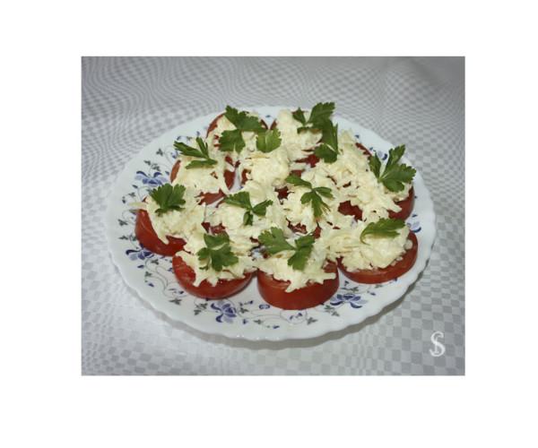 Закуска помидоры с сыром, рецепт и фото - Светлана Фонфрович