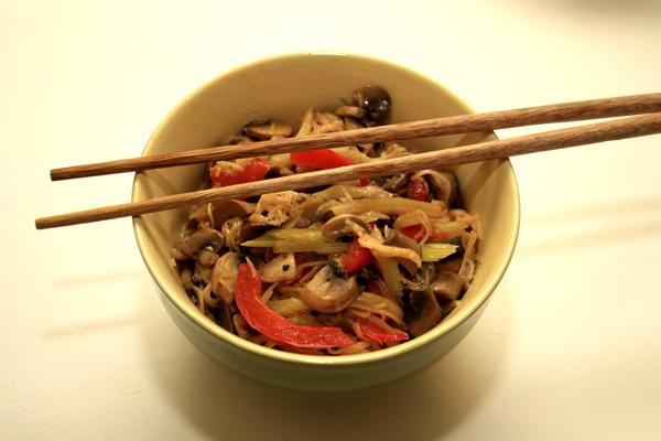 Лапша по-малайски, рецепт