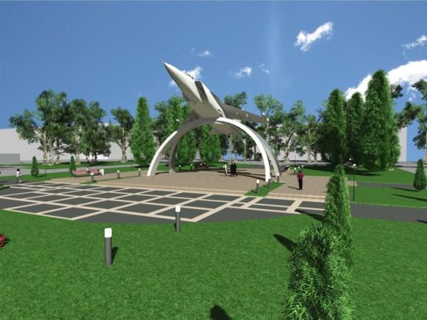 МиГ-31 проект памятника в Перми