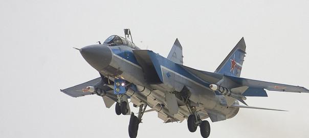 Монументальная пропаганда МиГ-31