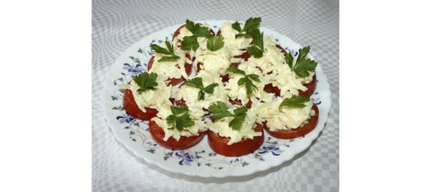 Помидоры с сыром, фото by Svetlana Fonfrovich