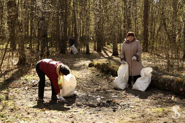Субботник на Малаховском озере, фото - Светлана Фонфрович, 11