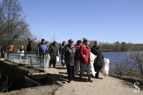 Субботник на Малаховском озере, фото - Светлана Фонфрович, 5