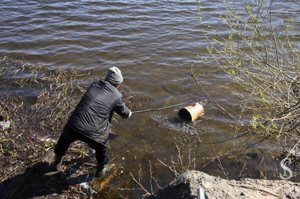 Субботник на Малаховском озере, фото - Светлана Фонфрович, 8
