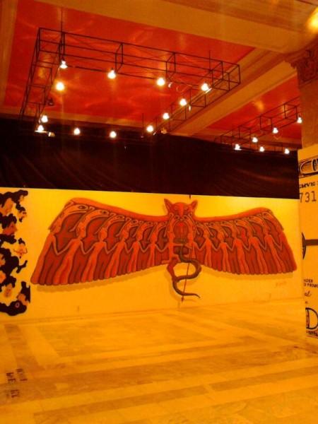 Транзитная зона Выставка стрит-арта в музее permm Мышь