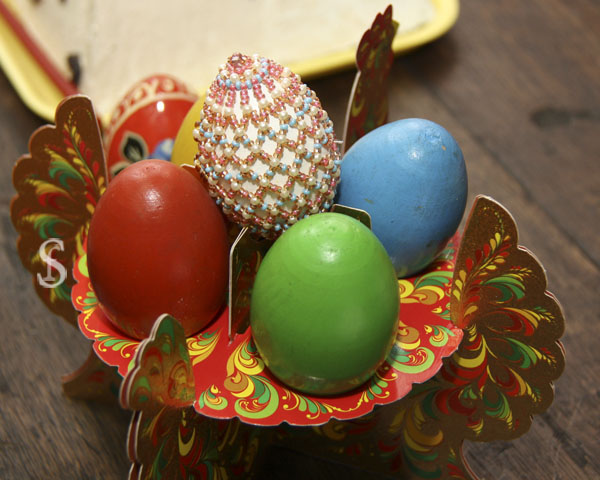 Яйца пасхальные, кулич, Пасха фото - Светлана Фонфрович