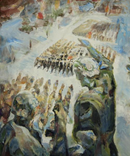Геннадий Бенедиктов - Парад на Красной площади, фото - Светлана Фонфрович