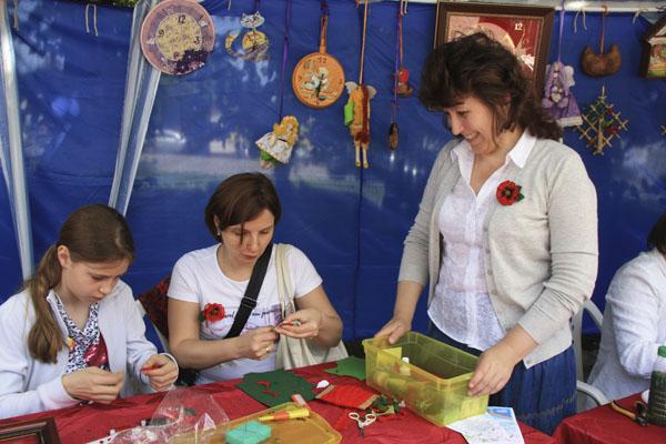 День защиты детей в Малаховке, Юлия Разумова
