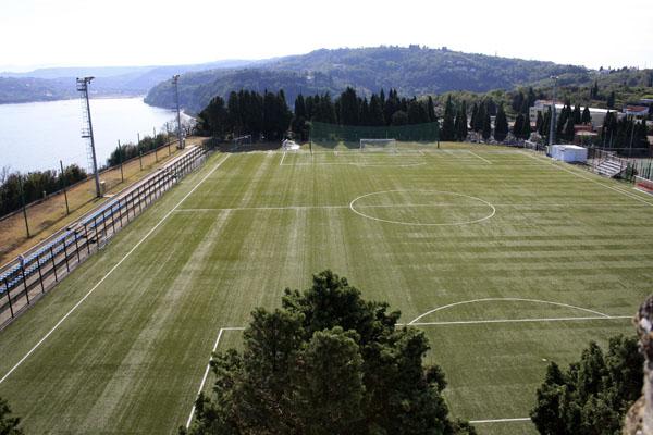 Стадион в Пиране Словения, фото - Светлана Фонфрович