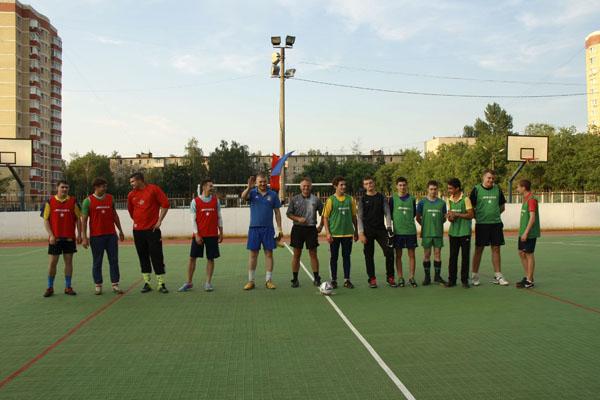 Футбол в Малаховке