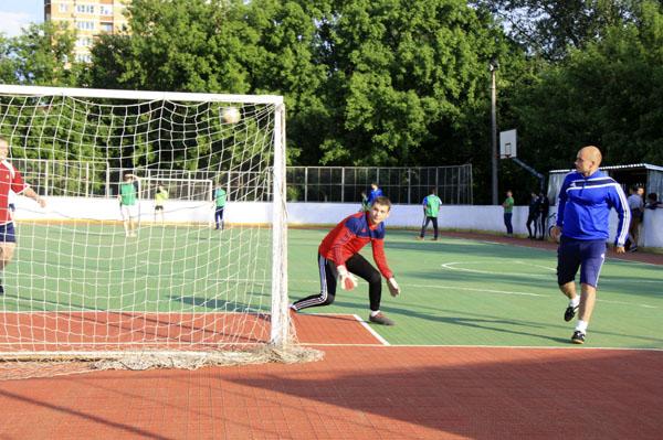 Футбол в Малаховке, фото - Светлана Фонфрович, 2