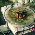 Чешский чесночный суп чеснечка