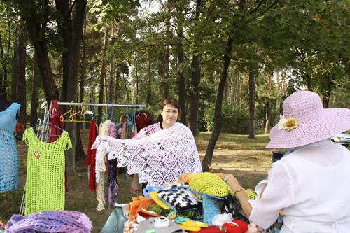 Ярмарка в Малаховке, летний парк в Малаховке