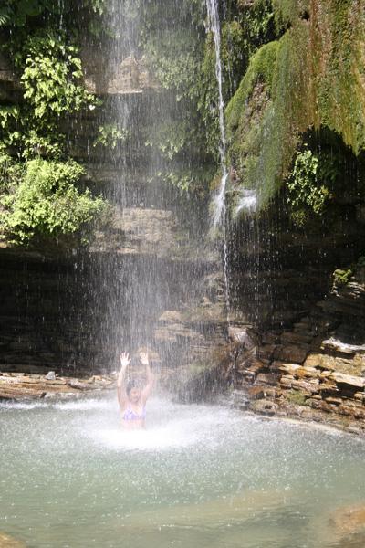 Водопад Шапсуг - День Чёрного моря