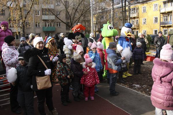День двора в Малаховке