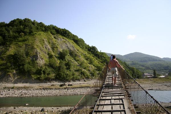 Подвесной мост - День Чёрного моря