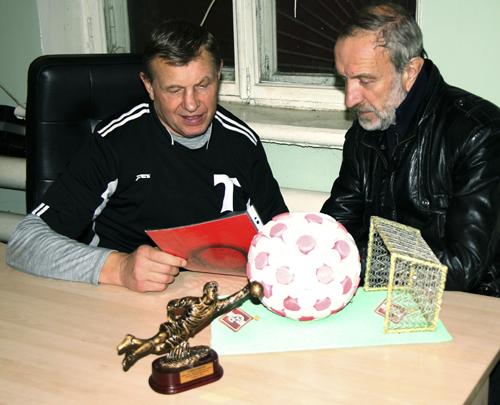 Владимир Малахов и Владимир Степанов на турнире памяти Василия Дрюккера