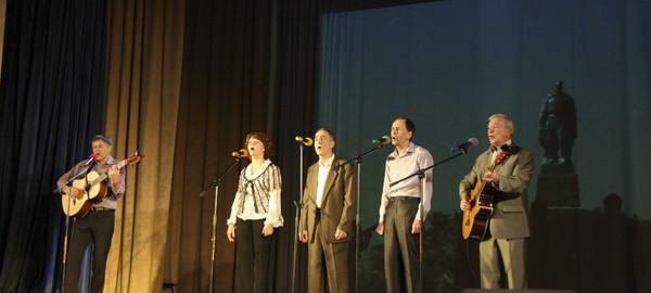 Концерт авторской песни Споемте друзья в Красково